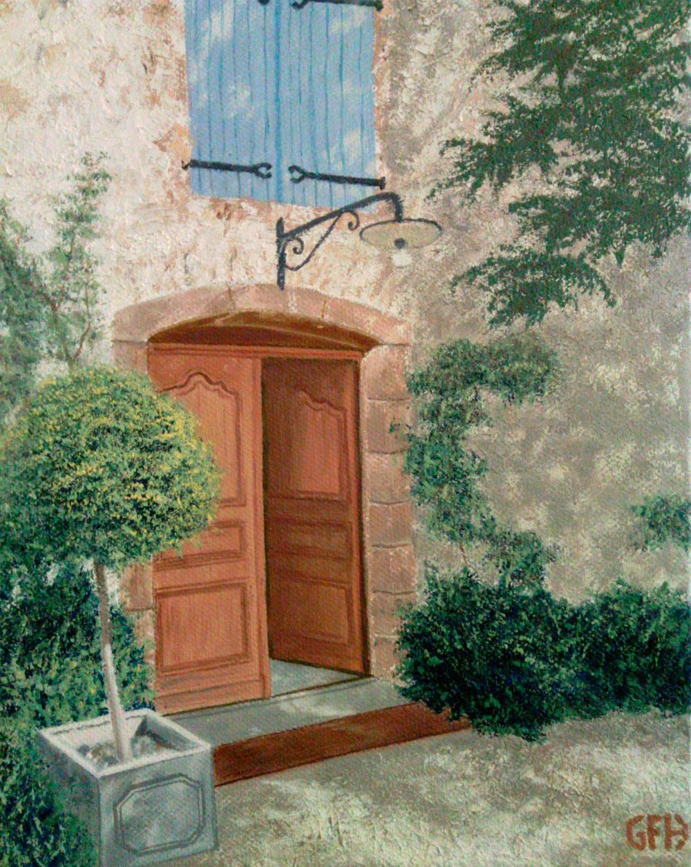 Porte Francaise Gail Frances Hall